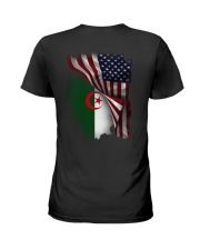 Flag-America-Algeria Ladies T-Shirt thumbnail