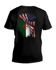 Flag-America-Algeria V-Neck T-Shirt thumbnail