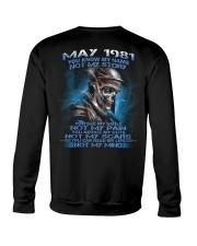 NOT MY 81-5 Crewneck Sweatshirt thumbnail