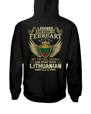 Legends - Lithuanian 02 Hooded Sweatshirt thumbnail
