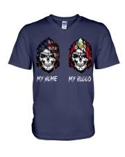 pride peru V-Neck T-Shirt thumbnail