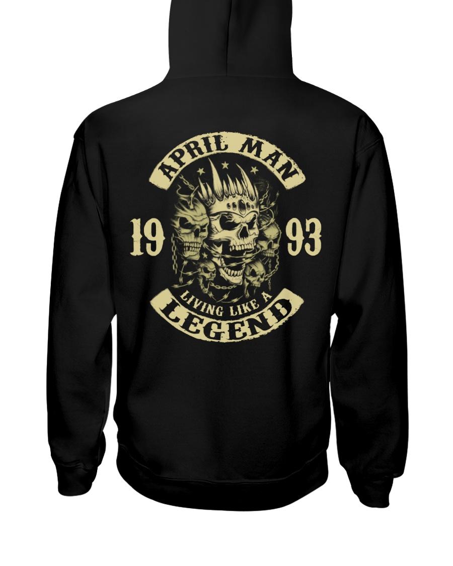 MAN 1993- 4 Hooded Sweatshirt