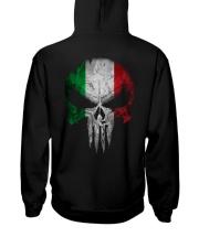 Skull Italy Hooded Sweatshirt back