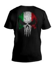 Skull Italy V-Neck T-Shirt thumbnail