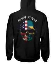 MY HOME - BLOOD Bahamas Hooded Sweatshirt back