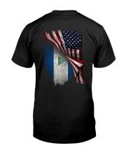 FLYING AMERICA- NICARAGUA Classic T-Shirt back
