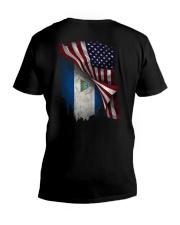 FLYING AMERICA- NICARAGUA V-Neck T-Shirt thumbnail