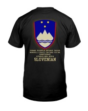 Awesome - Slovenian Classic T-Shirt back