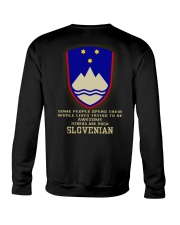 Awesome - Slovenian Crewneck Sweatshirt thumbnail
