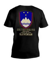 Awesome - Slovenian V-Neck T-Shirt thumbnail