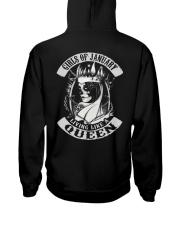 GIRLS OF 01 Hooded Sweatshirt back