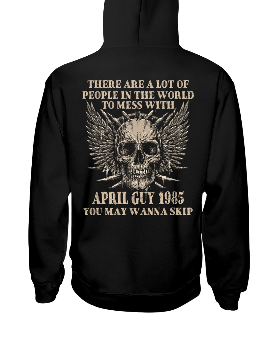 I AM A GUY 85-4 Hooded Sweatshirt