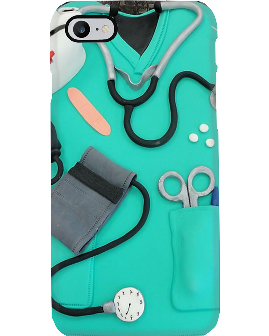 Nurse Scrubs Phone Case