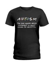 Autism Awareness Ladies T-Shirt thumbnail