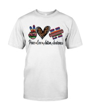 Autism Awareness Classic T-Shirt front