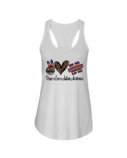 Autism Awareness Ladies Flowy Tank tile