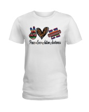 Autism Awareness Ladies T-Shirt tile