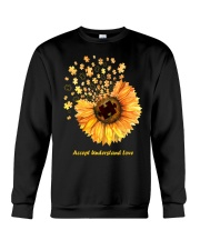 Accept Understand Love Crewneck Sweatshirt tile
