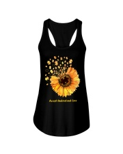 Accept Understand Love Ladies Flowy Tank thumbnail