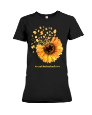 Accept Understand Love Premium Fit Ladies Tee thumbnail