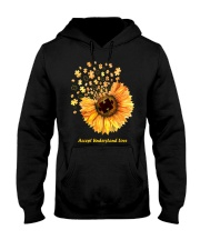 Accept Understand Love Hooded Sweatshirt thumbnail