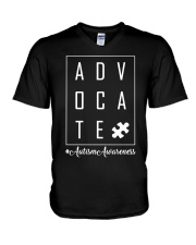 Autism Awareness V-Neck T-Shirt thumbnail