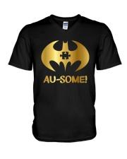 Autism Awareness V-Neck T-Shirt thumbnail