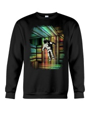 Interstellar - Trapped in Multiple Time Dimensions Crewneck Sweatshirt thumbnail