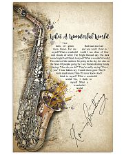What A Wonderful World 24x36 Poster front