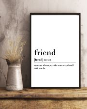 Friend 24x36 Poster lifestyle-poster-3