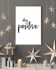 Stay positive 24x36 Poster lifestyle-holiday-poster-1
