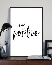 Stay positive 24x36 Poster lifestyle-poster-2