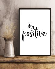 Stay positive 24x36 Poster lifestyle-poster-3