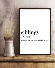 siblings 24x36 Poster lifestyle-poster-3