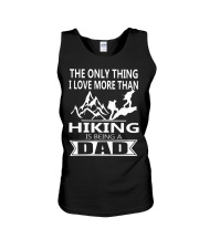 i love you more hiking is being a dad Unisex Tank thumbnail