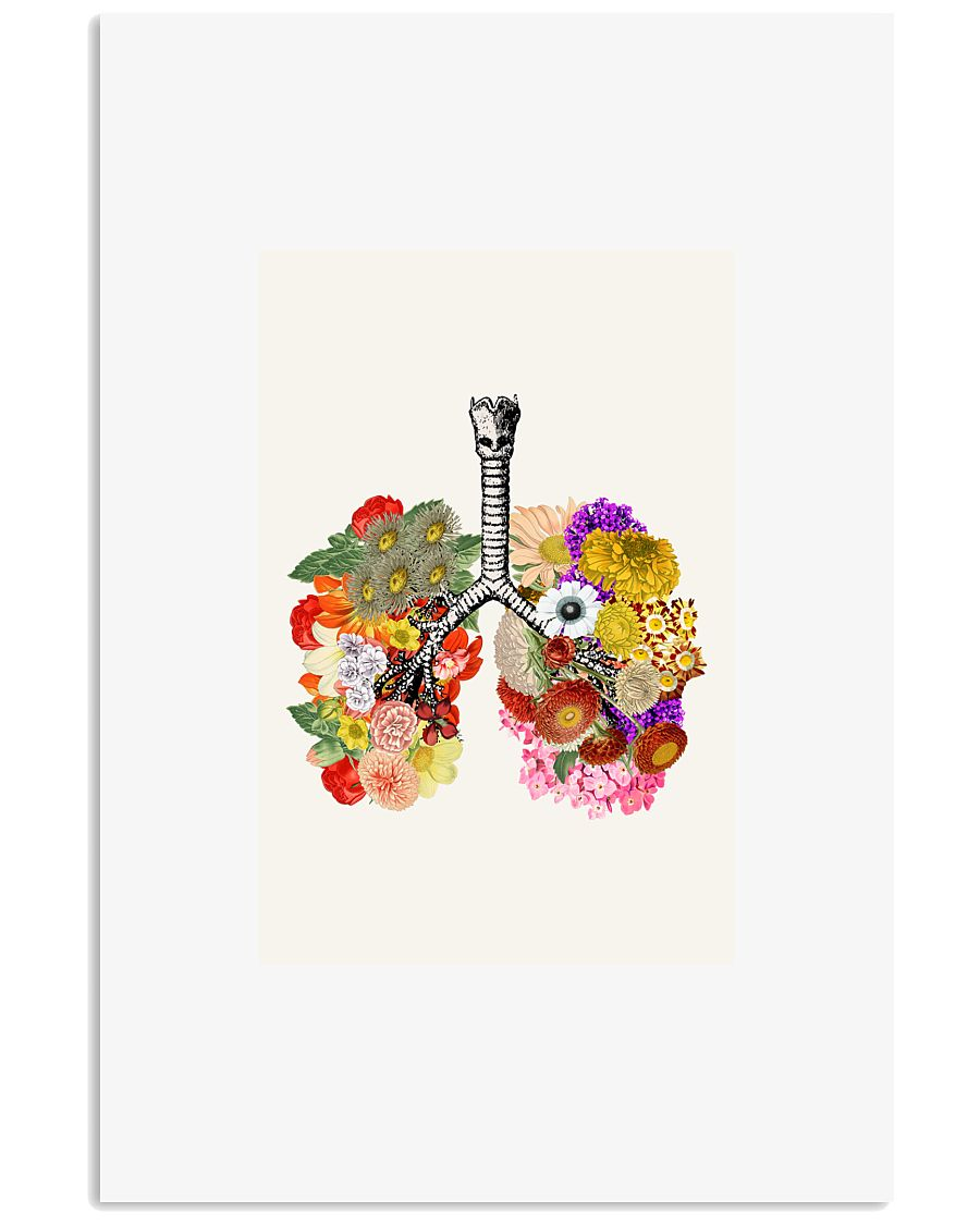 Anatomy Lung  24x36 Poster