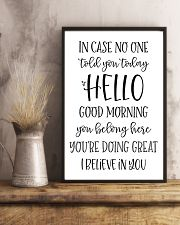 in case no one told you today hello good morning  24x36 Poster lifestyle-poster-3