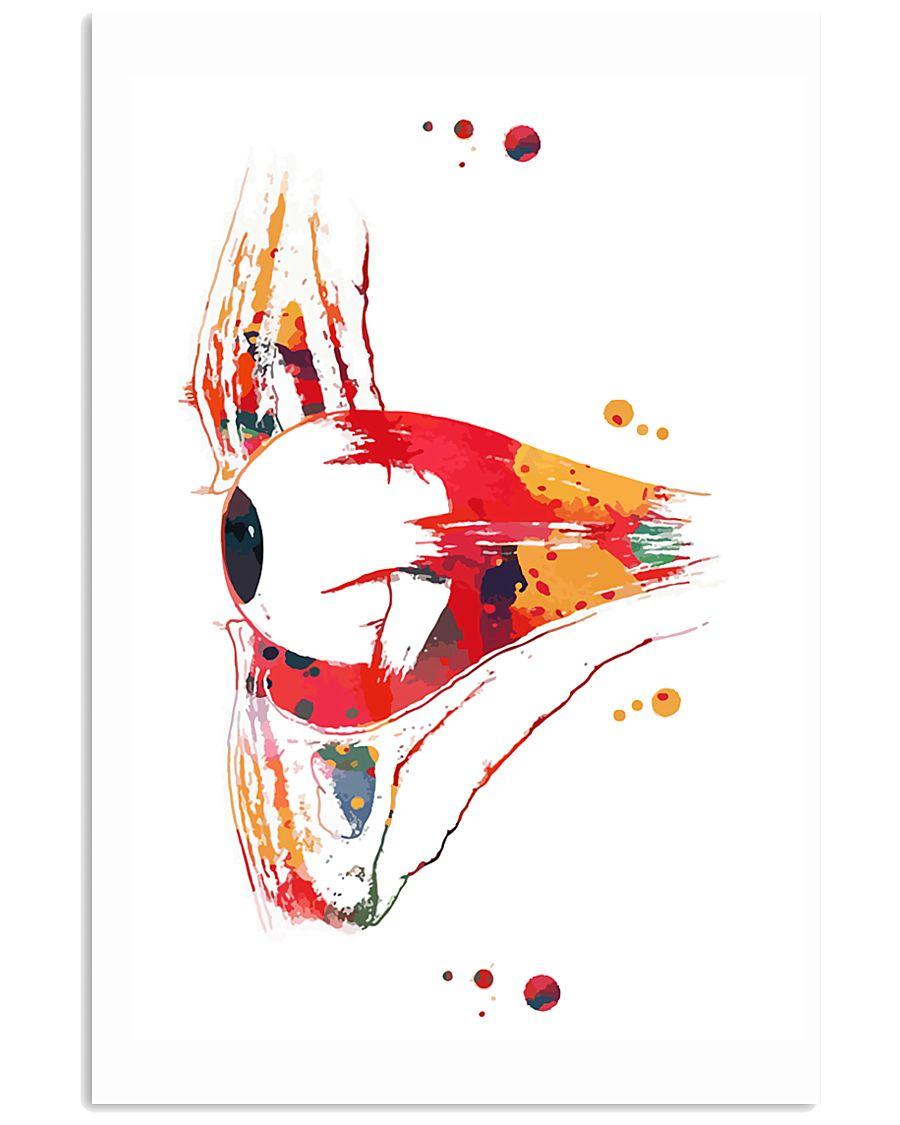 Human eye section Optometry 24x36 Poster