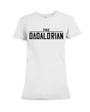 The dadalorian Premium Fit Ladies Tee thumbnail
