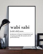 Wabi sabi 24x36 Poster lifestyle-poster-2