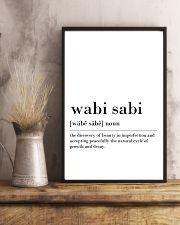 Wabi sabi 24x36 Poster lifestyle-poster-3