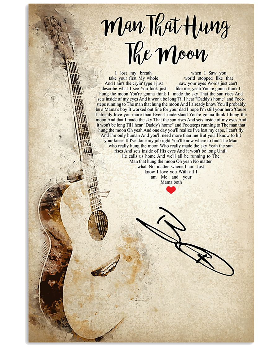 Man That Hung The Moon 24x36 Poster