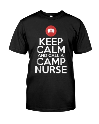 Camp Nurse Staff Keep Calm Summer Supplies
