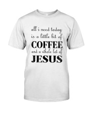 COFFEE JESUS Classic T-Shirt front