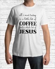 COFFEE JESUS Classic T-Shirt lifestyle-mens-crewneck-front-1