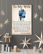 To my wife 24x36 Poster lifestyle-holiday-poster-1