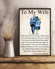 To my wife 24x36 Poster lifestyle-poster-3