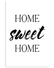 Home sweet home 24x36 Poster front