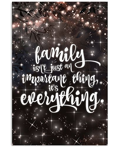 Family is not just an important thing