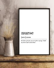 Nurse 24x36 Poster lifestyle-poster-3